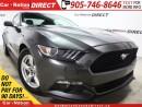 Used 2015 Ford Mustang V6| BACK UP CAMERA| LOW KM'S| PUSH START| for sale in Burlington, ON