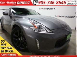 Used 2016 Nissan 370Z | PUSH START| ONE PRICE INTEGRITY| OPEN SUNDAYS| for sale in Burlington, ON