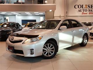 Used 2011 Toyota Camry HYBRID NAVIGATION-LEATHER-SUNROOF-LOADED for sale in York, ON