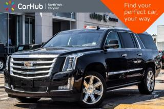 Used 2016 Cadillac Escalade ESV Premium Collection AWD|Rr DVD|Heat Seats|Sunroof|22