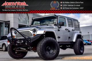 Used 2010 Jeep Wrangler Unlimited Sahara|4X4|UpgradedAudio|LEDLightBars|Bluetooth!R-Start|17
