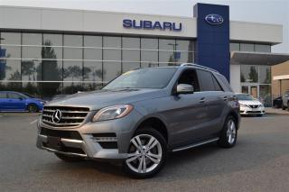 Used 2013 Mercedes-Benz ML-Class ML 350 BlueTEC 4MATIC - No Accidents for sale in Port Coquitlam, BC