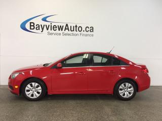 Used 2014 Chevrolet Cruze LT- TURBO! 6 SPEED! A/C! ON STAR! CRUISE! for sale in Belleville, ON