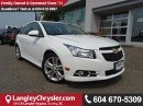 Used 2012 Chevrolet Cruze ECO *ACCIDENT FREE*LOCAL BC TRUCK*LOW KMS* for sale in Surrey, BC