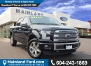 Used 2015 Ford F-150 Platinum LOCAL, LOW KMS for sale in Surrey, BC