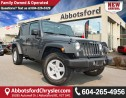 Used 2016 Jeep Wrangler Unlimited Sport ACCIDENT FREE! for sale in Abbotsford, BC