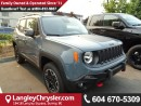 New 2017 Jeep Renegade Trailhawk for sale in Surrey, BC