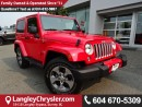 Used 2016 Jeep Wrangler Sahara w/NAVIGATION & BLUETOOTH for sale in Surrey, BC