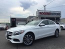 Used 2015 Mercedes-Benz C 300 4MATIC - NAVI - PANORAMIC ROOF for sale in Oakville, ON