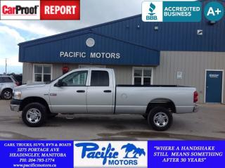 Used 2008 Dodge Ram 2500 ST/SXT for sale in Headingley, MB