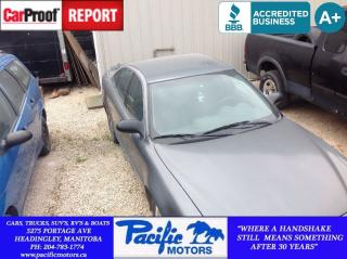 Used 2004 Pontiac Grand Am SE1 for sale in Headingley, MB