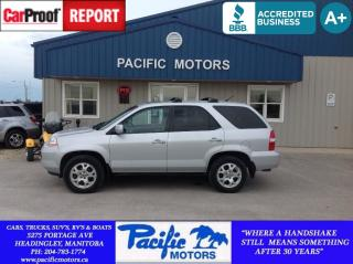 Used 2002 Acura MDX 3.5 for sale in Headingley, MB