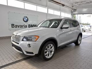 Used 2014 BMW X3 xDrive28i for sale in Edmonton, AB