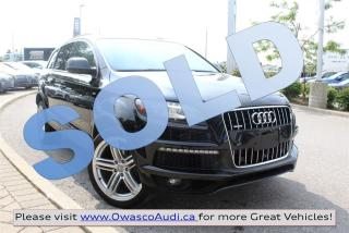Used 2014 Audi Q7 *SOLD* quattro Technik w/ S-line Package for sale in Whitby, ON