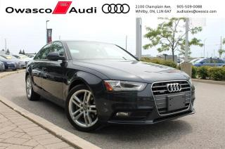 Used 2013 Audi A4 Tiptronic quattro Premium w/ Navigation System for sale in Whitby, ON