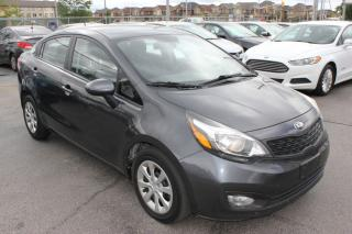 Used 2013 Kia Rio LX+ BLUETOOTH HEATED SEATS for sale in Brampton, ON