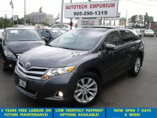 Used 2016 Toyota Venza XLE AWD Navigation/Cam/PanoSunroof Loaded for sale in Mississauga, ON