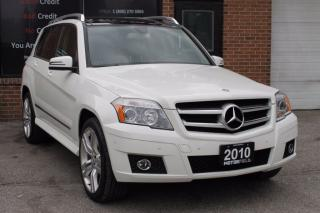 Used 2010 Mercedes-Benz GLK-Class GLK 350 *LEATHER, PANO ROOF, CERTIFIED* for sale in Scarborough, ON