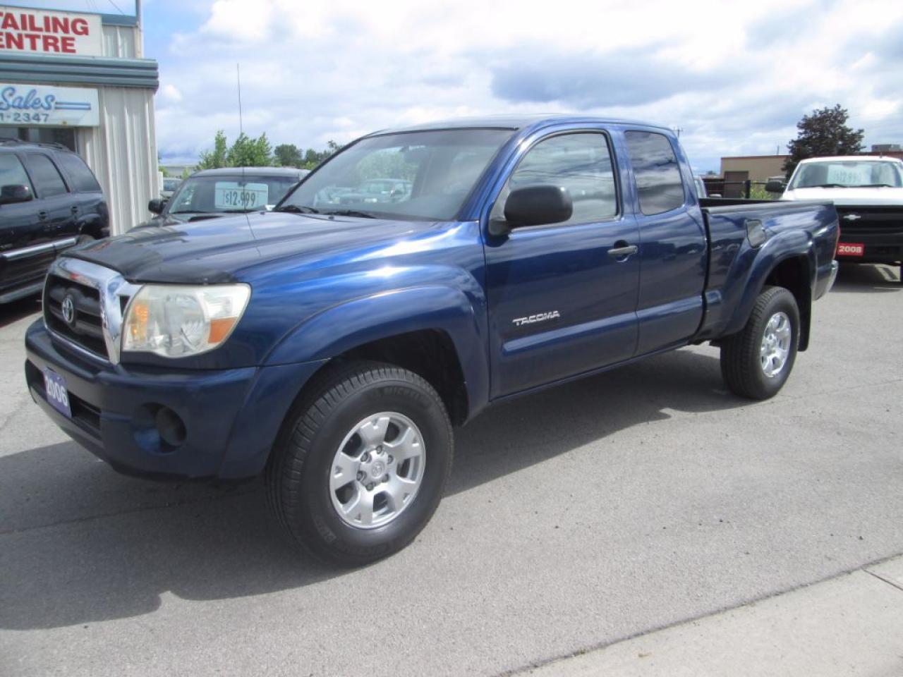 Photo of Blue 2006 Toyota Tacoma