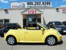 Used 2008 Volkswagen New Beetle Leather, WE APPROVE ALL CREDIT for sale in Mississauga, ON
