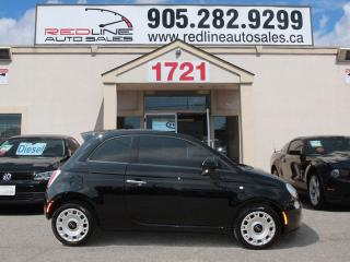 Used 2014 Fiat 500 Pop, Red Interior, WE APPROVE ALL CREDIT for sale in Mississauga, ON