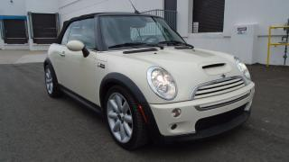 Used 2007 MINI Cooper Convertible COOPER S-LOADED,2 TONE HEATED LEATHER,NO ACCIDENTS for sale in North York, ON