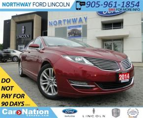 Used 2014 Lincoln MKZ | HYBRID | NAV | LEATHER | PANO ROOF | for sale in Brantford, ON