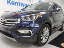 Used 2017 Hyundai Santa Fe Sport 2.0T Limited AWD with panoramic roof, heated leather seats all around and push start/stop for sale in Edmonton, AB