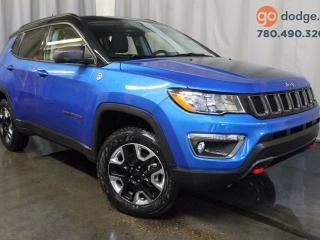 Used 2017 Jeep New Compass Trailhawk 4x4 GPS Navigation / Full Sunroof / Rear Back Up Camera for sale in Edmonton, AB