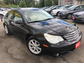 Used 2007 Chrysler Sebring Limited/LEATHER/SUNROOF/ALLOYS/DRIVES LIKENEW for sale in Scarborough, ON