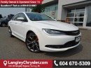 Used 2016 Chrysler 200 W/NAVIGATION & PANORAMIC SUNROOF for sale in Surrey, BC