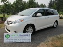 Used 2012 Toyota Sienna Limited, AWD, Nav, Warr for sale in Surrey, BC