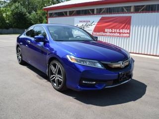 Used 2016 Honda Accord Touring 2dr Coupe for sale in Brantford, ON