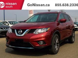 Used 2016 Nissan Rogue NAVIGATION, LEATHER, PANORAMIC SUNROOF!! for sale in Edmonton, AB
