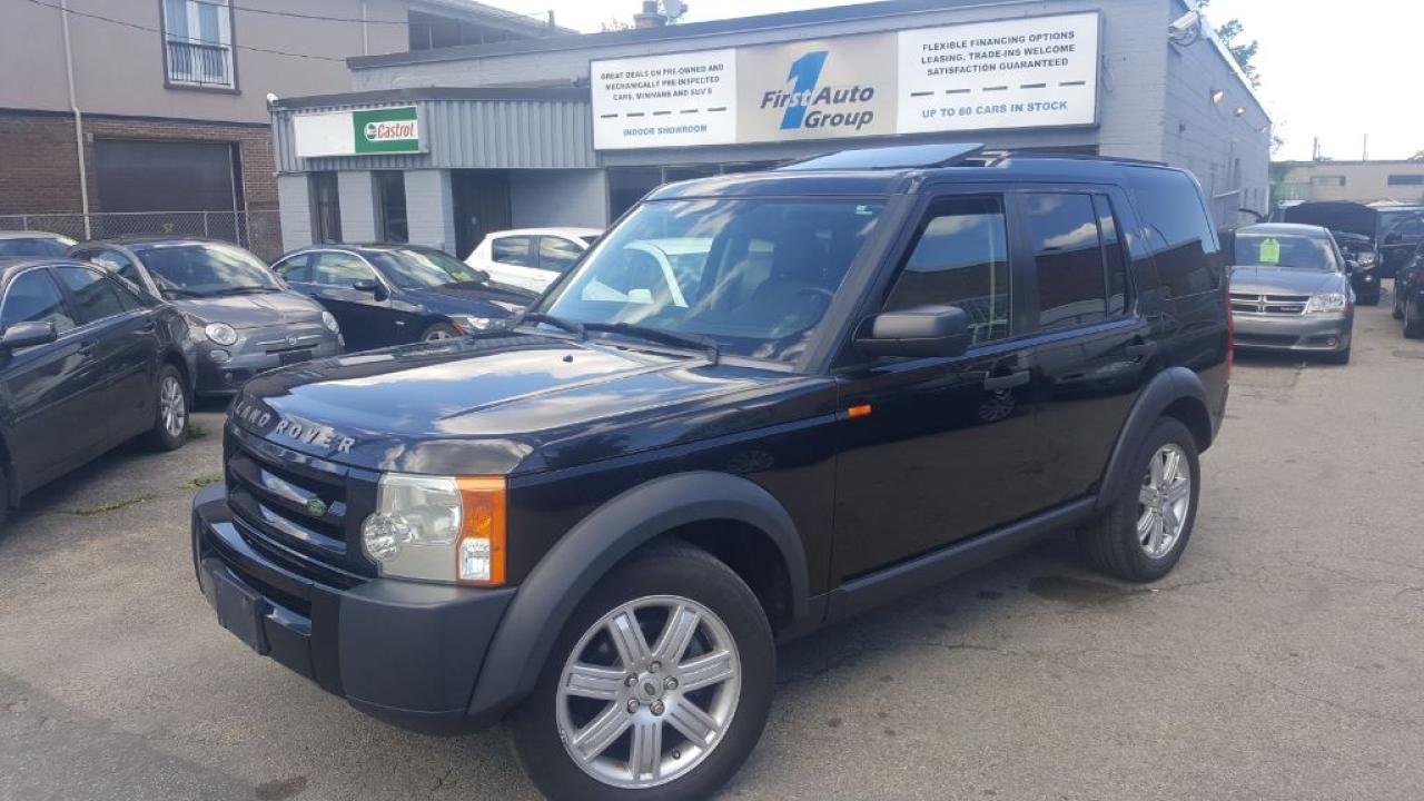 Photo of Black 2007 Land Rover LR3