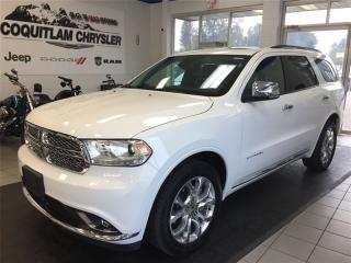 Used 2016 Dodge Durango Citadel for sale in Coquitlam, BC