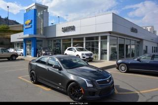 New 2018 Cadillac ATS-V Base for sale in Kamloops, BC