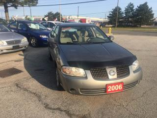 Used 2006 Nissan Sentra 1.8 S for sale in North York, ON