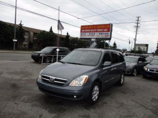 Used 2008 Hyundai Entourage Limited,**,LEATHER SUNROOF, TV DVD for sale in Scarborough, ON