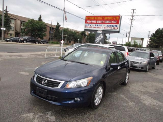 2008 Honda Accord EX-L,LEATHER,SUNROOF ,HEATED SEATS  DRIVER AND PAS