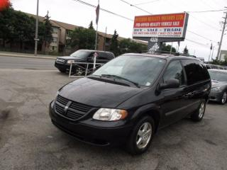 Used 2007 Dodge Caravan SXT,LEATHER ...VERY CLEAN for sale in Scarborough, ON
