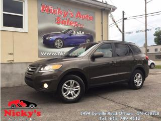 Used 2012 Hyundai Santa Fe GL - AWD - ALLOY WHEELS - HEATED SEATS - LOADED! for sale in Gloucester, ON