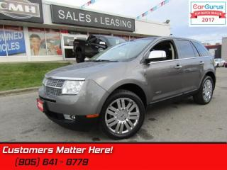 Used 2010 Lincoln MKX AWD, NAV, ROOF, COOLED-SEATS, PWR-GATE, CAM for sale in St Catharines, ON