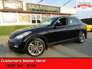 Used 2011 Infiniti EX35 Luxury  PREMIUM AWD LEATH ROOF CAM HTD-SEATS PWR-SEATS for sale in St Catharines, ON