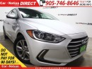 Used 2017 Hyundai Elantra GL| LOW KM'S| BACK UP CAM| BLIND SPOT DETECTION| for sale in Burlington, ON