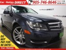 Used 2013 Mercedes-Benz C-Class C300 4MATIC| LOW KM'S| NAVI| SUNROOF| for sale in Burlington, ON