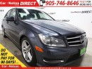 Used 2014 Mercedes-Benz C-Class C300 4MATIC| LEATHER| SUNROOF| OPEN SUNDAYS| for sale in Burlington, ON