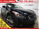Used 2013 Infiniti G37 X Sport| AWD| SUNROOF| LEATHER| LOW KM'S| for sale in Burlington, ON