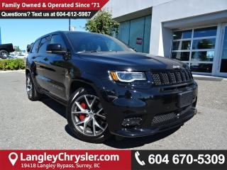 Used 2017 Jeep Grand Cherokee SRT *ACCIDENT FREE * LOCAL BC SUV* for sale in Surrey, BC