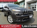 Used 2016 Jeep Cherokee Limited *ACCIDENT FREE * DEALER INSPECTED * CERTIFIED * for sale in Surrey, BC